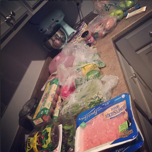 My week of groceries!